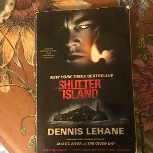 Shutter island NY best seller Novel softcover book